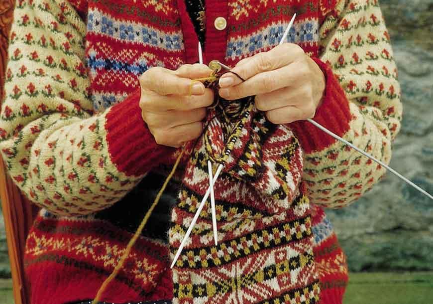 Stranded knitting: la tradizione dell'Isola di Fair