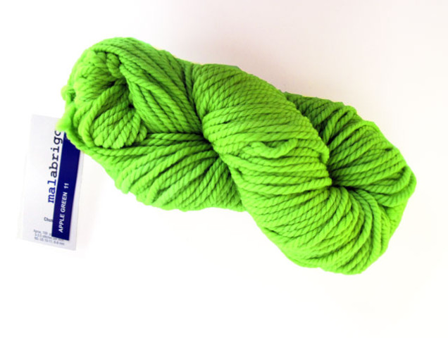 Malabrigo-Chunky-11-Apple-Green