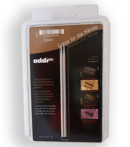 Addi Click Lace-Long 3,5 mm