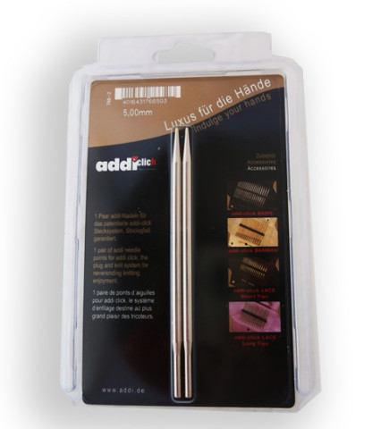 Addi Click Lace-Long 5,0 mm