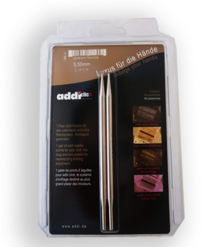 Addi Click Lace-Long 5,5 mm