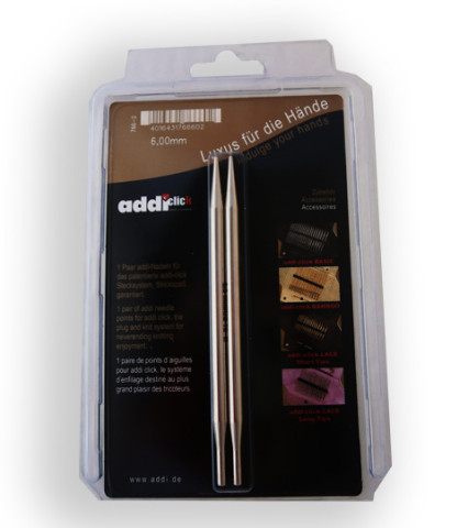 Addi Click Lace-Long 6,0 mm