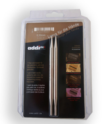 Addi Click Lace-Long 6,5 mm