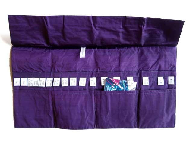 Astuccio Della Q  Purple